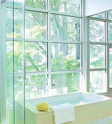 Bathroom Privacy WindowExquisite Flooring Ideas